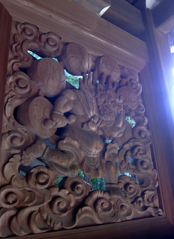 不思議大好き ババタヌキ-日之本元極気功教室 彫刻