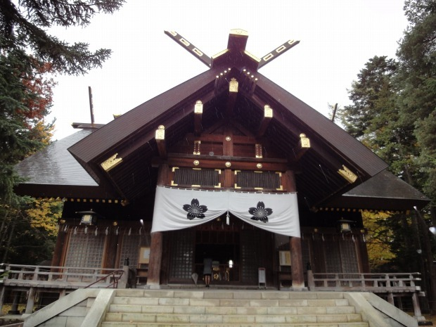 babatanukiのブログ-日之本元極気功教室 旭川神社
