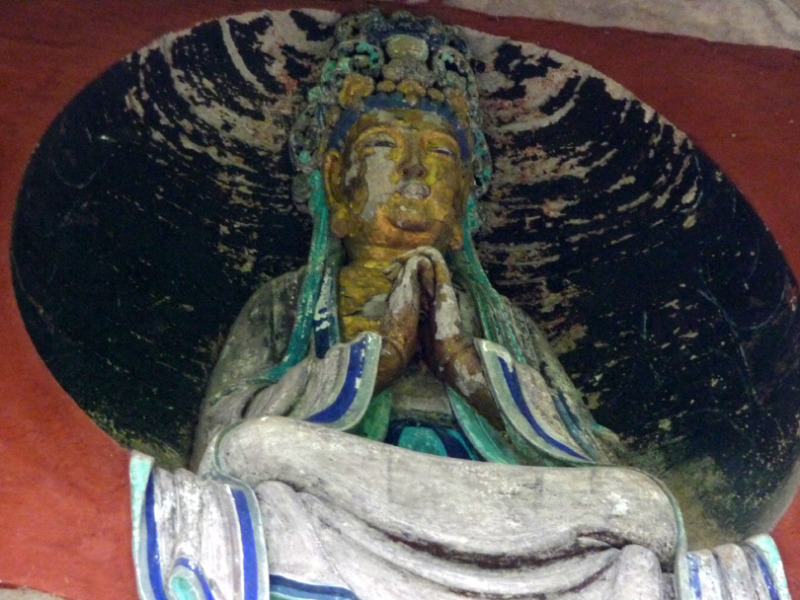 babatanukiのブログ-日之本元極気功教室 石の仏
