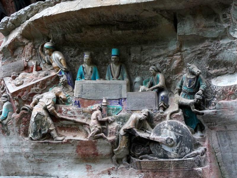 babatanukiのブログ-日之本元極気功教室 石の仏 大仏
