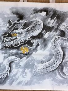 不思議大好き ババタヌキ-「とらや」の龍